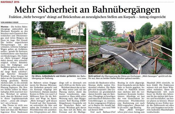 Mehr Sicherheit an Bahnübergängen