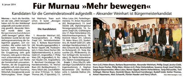 Artikel Murnau MEHR BEWEGEN Kreisbote GAP