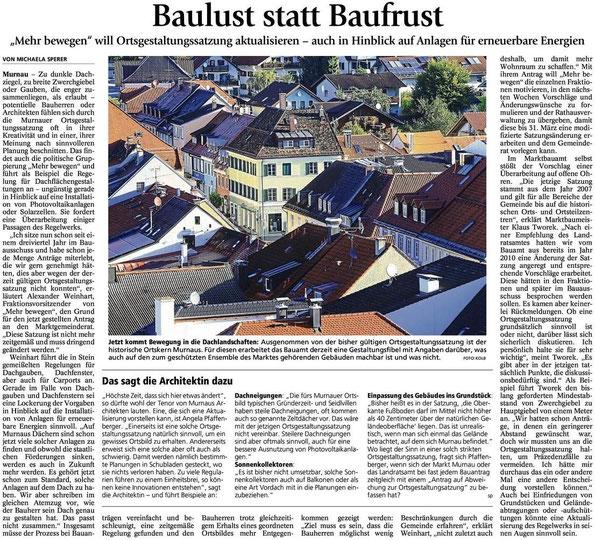 Murnauer Tagblatt vom 29.01.2015