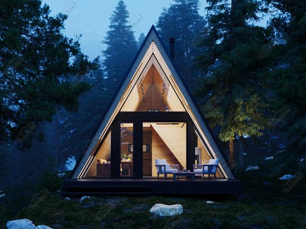 афрейм #aframecabin #aframehouse #woodcabin #cabin #cabincrew #house #tinyhouse #treehouse #аобразный #шалаш #домшалаш ле шале