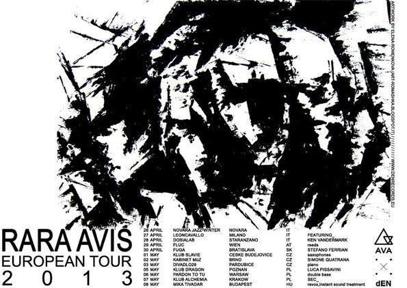 Rara Avis - Tour - Simone Quatrana