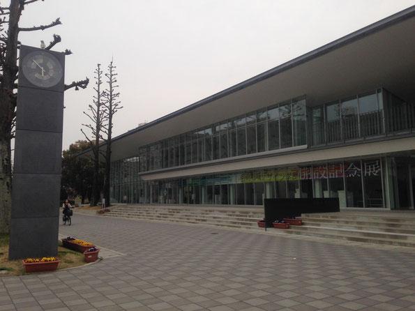 20160330 喪失と再生の、思い出の詰まった佐賀大学美術館。