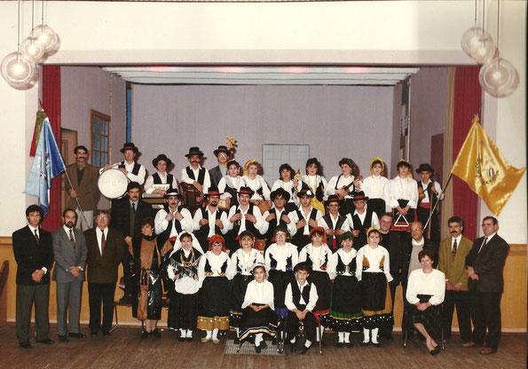 """Primeira atuação 14/02/1990 no """"Veräinshaus"""" em Echternach"""