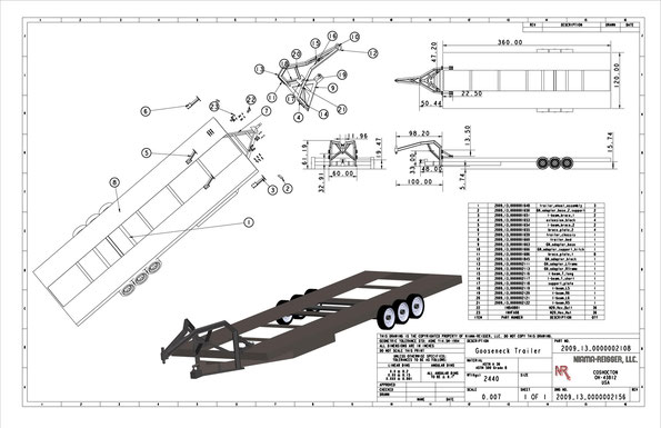 2-in-1 Trailer Design by NIAMA-REISSER, LLC