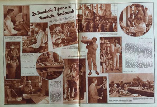 Artikel in 'Groot Rotterdam' 24 October 1930, 8e jaargang nr 32
