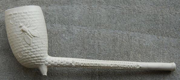 P. Goedewaagen & Zoon, andere zijde GOUDA. Model nr 193, Bijenkorfplatpunt