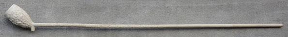 'Het Wapen van Friesland', Catalogus nr 20. Reclame pijp voor Tabaksmerk. Lengte steel 57 cm bekend met hielmerk gekroonde TM en ES