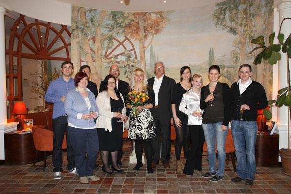 Die Teilnehmer des Stipendiaten-Seminars der Sto-Stiftung in Dresden im März 2012