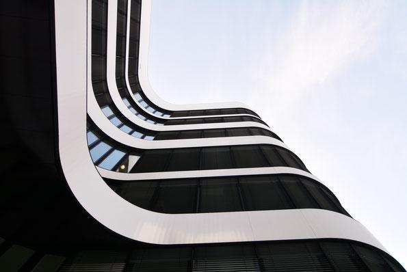 "Düsseldorf, Airport-City, ""Panta rhei"""