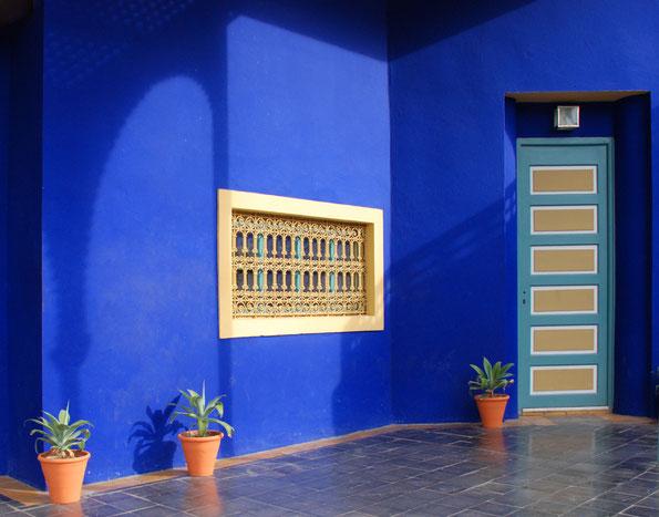 Im Jardin Majorelle, Marrakech