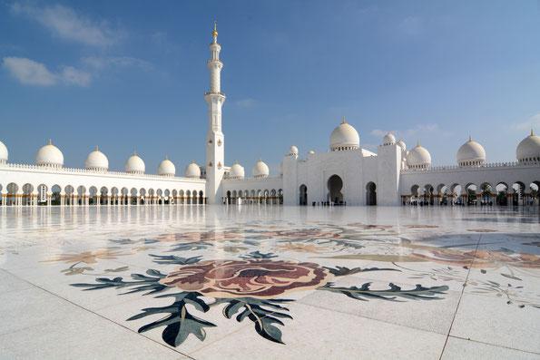 Abu Dhabi, große Moschee