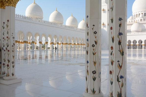 Abu Dhabi, Scheich Zayed-Moschee