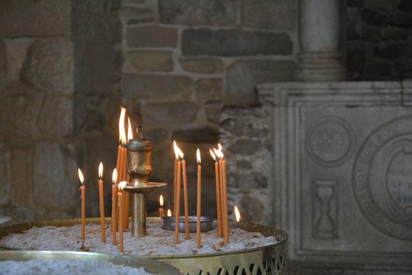In einem griechisch-orthodoxen Kloster