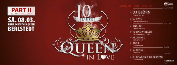 08.03.2014 Queen in Love - Klappe die 2.