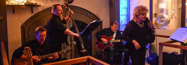 15.03.2014 Jazz at Night mit Kleeblatt und Tina Rogers...