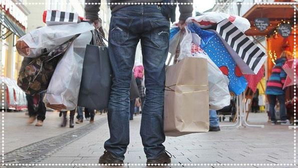 Konsumrausch, Nachhaltigkeit, Einkaufen