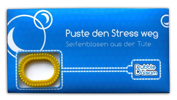 Stress, Pustefix, Seifenblasen
