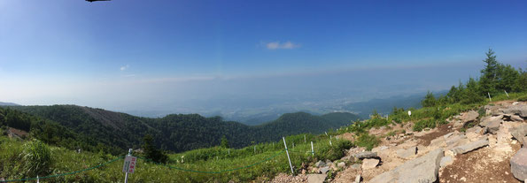 見晴岳から