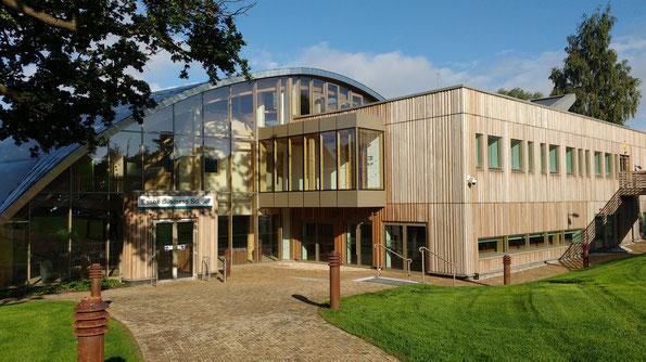 """Der Tagungsort - das brandneue Gebäude der """"Essex Business School"""""""