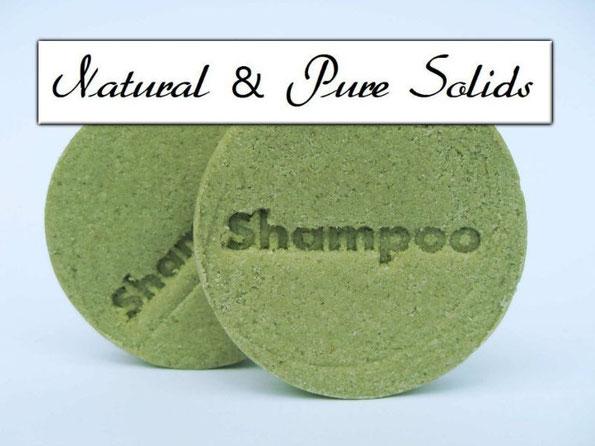 Festes Shampoo mit Brennessel - Brennessel Shampoo-Stein - Naturseifen und Wellness-Shop