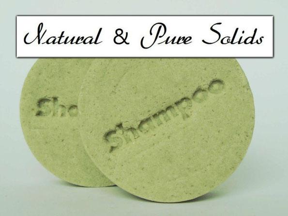 Festes Shampoo mit Aloe Vera - Shampoo-Stein ohne Duft- und Farbstoffe - Naturseifen und Wellness-Shop