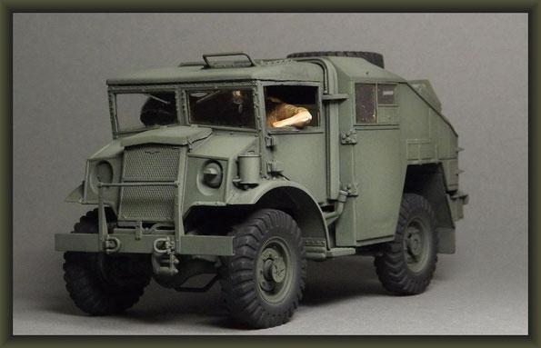 Chevrolet Gun Tractor, Italeri, Diorama 1:35