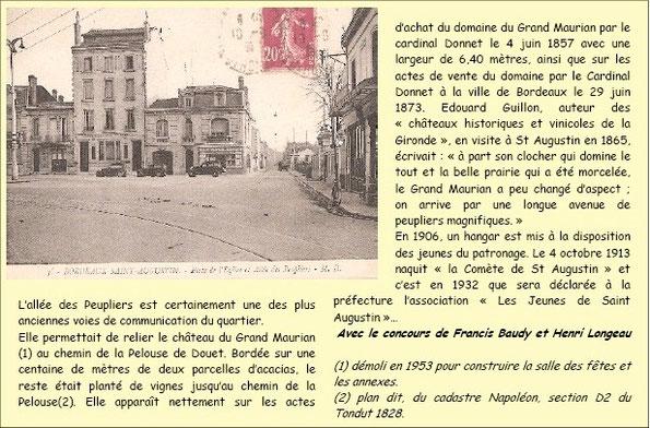 Allée des Peupliers Bordeaux