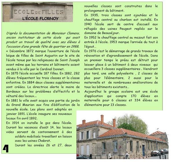Ecole Flornoy à Bordeaux