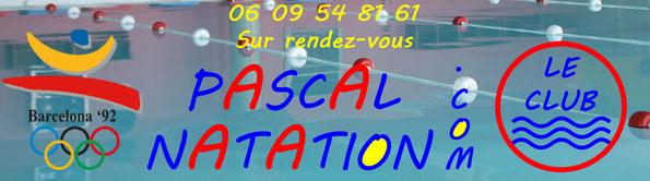 Le club de natation à La Ciotat pour des cours particulier sur rendez-vous avec Pascal Natation