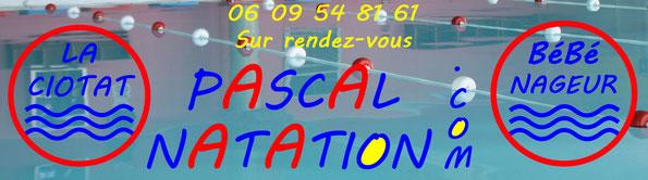 votre cours de natation pour les bébés nageurs sur rendez-vous à La Ciotat Piscine Pascal Natation