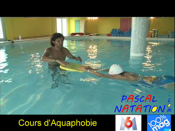 00%Mag sur M6 sur les cours d'aquaphobie avec Pascal Natation à La Ciotat