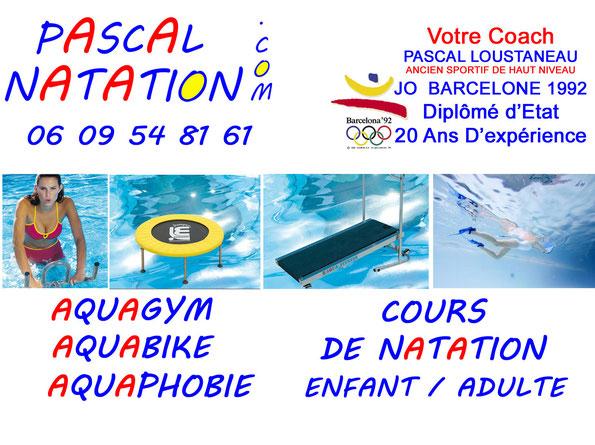 Aquagym et Aquabike à la Ciotat dans une piscine privée de Pascal Natation