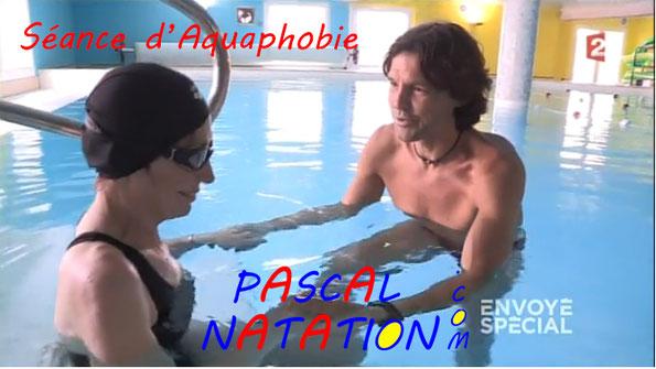 Aquaphobie pour les adultes à la Ciotat Piscine Pascal Natation reportage Envoyé Spécial France 2