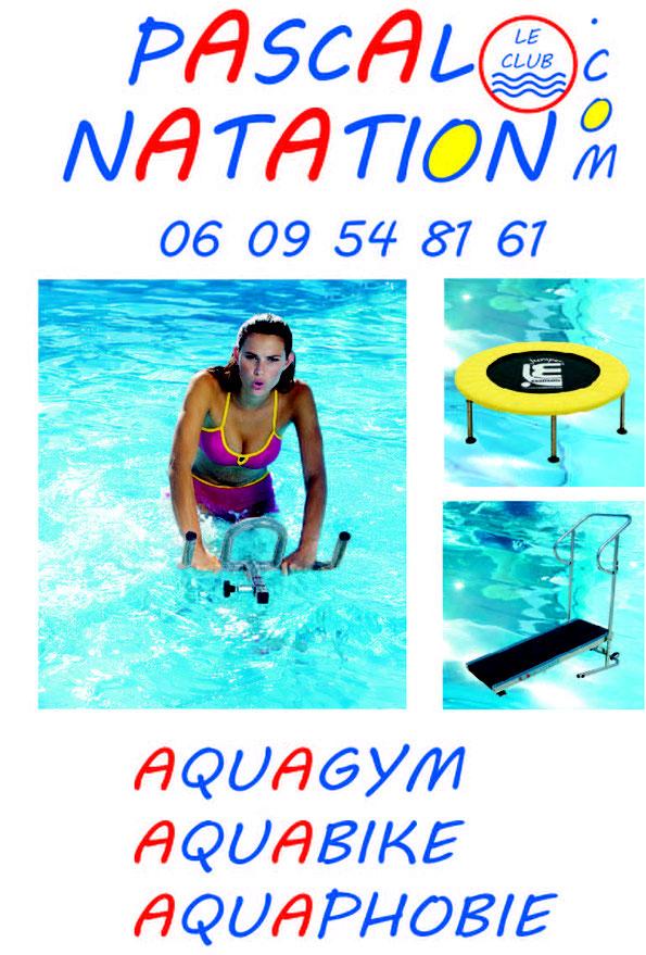 La formule sportive de Pascal Natation avec Aquagym et Aquabike à La Ciotat