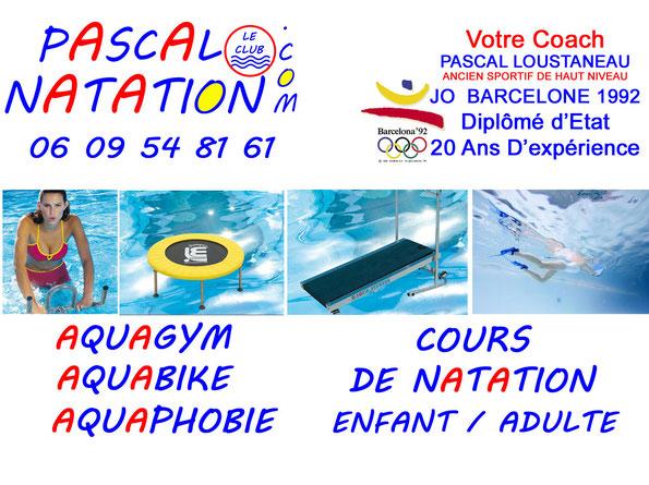 Aquagym Aquabike et cours de natation à La Ciotat Piscine Pascal Natation
