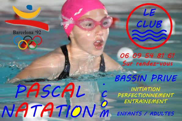Cub de natation à La Ciotat pour apprendre à nager en cours particuliers avec Pascal Natation