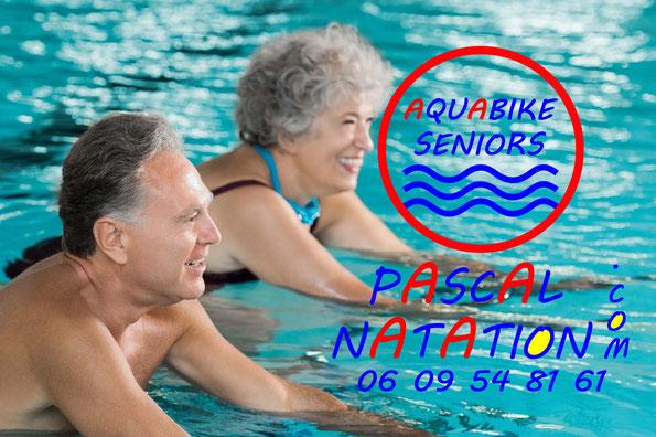 Aquabike pour les seniors à La Ciotat Piscine Pascal Natation