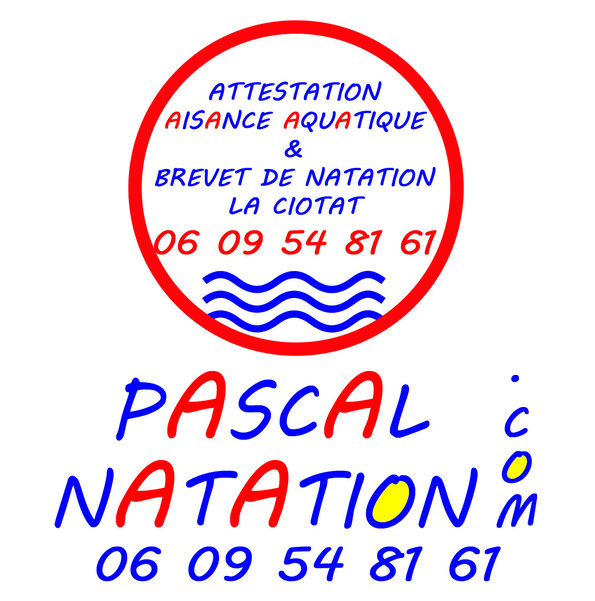 Attestation d'aisance aquatique et brevet de natation à La CiotatPiscine Pascal Natation