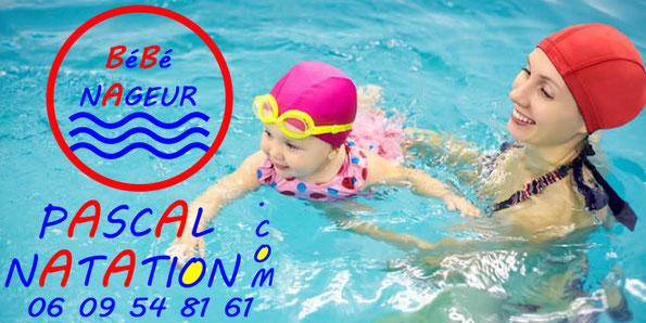 Votre séance de bébé nageur à La Ciotat Piscine Pascal Natation