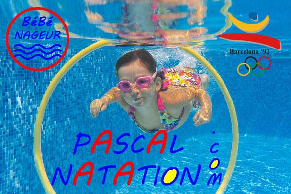les cours de bébés nageurs à La Ciotat Piscine Pascal Natation