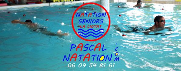 Ligne de natation pour les seniors à La Ciotat Piscine Pascal Natation