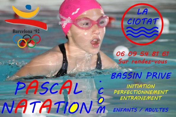 Cours de natation à la Ciotat pour enfants à partir de 3 ans avec Aquabike et Aquagym pour maman en même temps