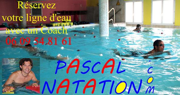 Piscine Pascal Natation à La Ciotat pour apprendre à nager ou vous perfectionner avec un coach