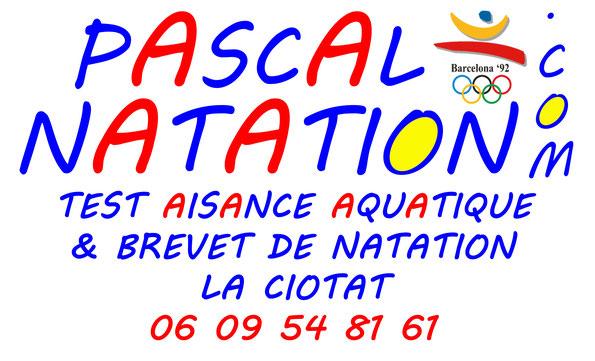 Test d'aisance aquatique à La Ciotat Piscine Pascal Natation