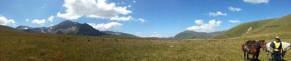 конные походы в горах Адыгеи