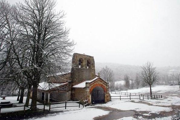 Ermita de la Virgen de Oca en Villafranca Montes de Oca (Burgos) / Icaljacobeo