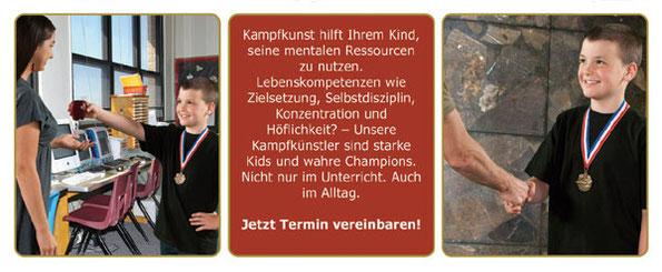 Kinder Karate Gruenwald Anmeldung für ein Probetraining