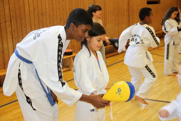 Taekwondo Tiger Kids 5 bis 7 Jahre