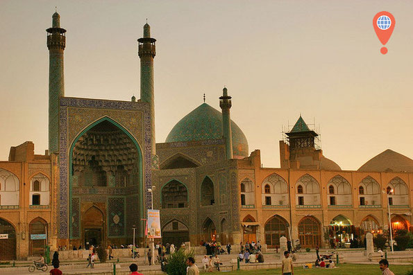 Immam mosque isfahan