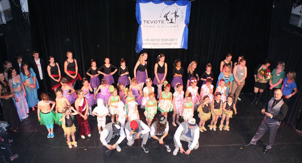Tolle Show von tollen Tänzern